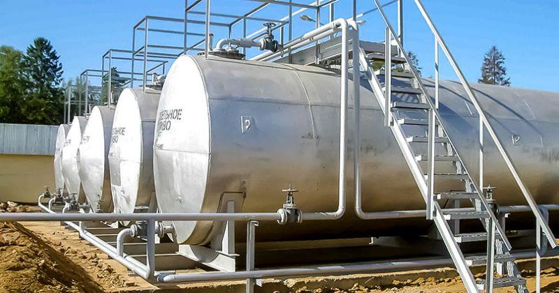 Производство резервуаров и емкостей для нефтепродуктов и АЗС