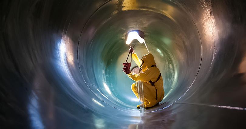 Зачистка, дегазация и ремонт резервуаров под нефтепродукты