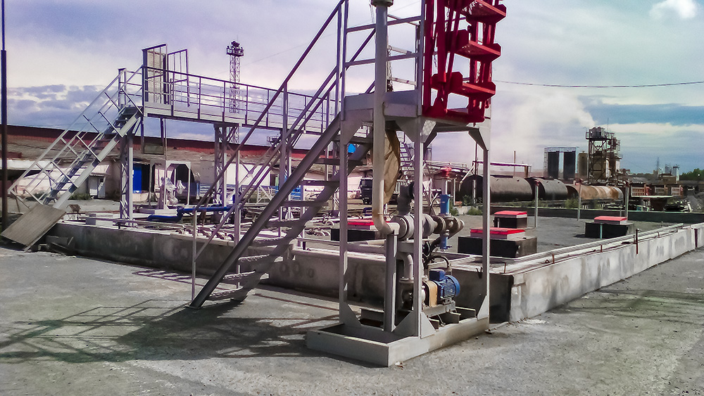 Строительство автозаправочного комплексa под ключ для ЗАО Уралтрансспецстрой